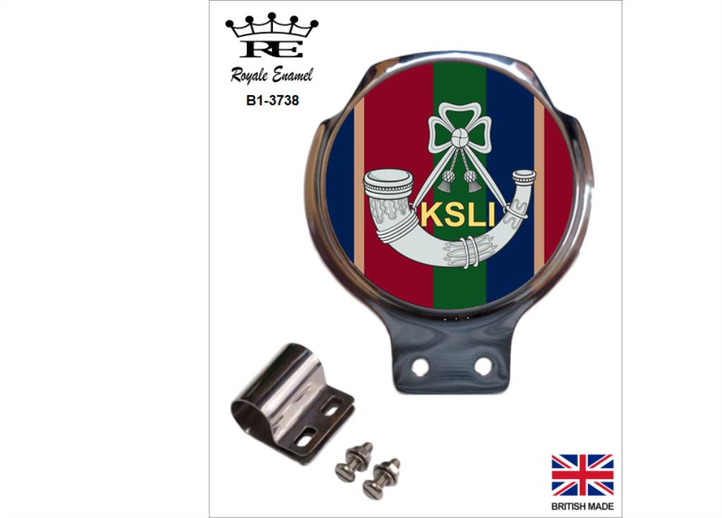 Royale Military Car Grill Badge /& Fittings DURHAM LIGHT INFANTRY B2.3138