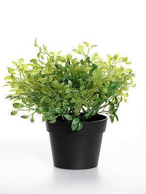 Artificial-Herb-Plants-Decorative-Thyme-Rosemary-Sage-Oregano-Marjoram-Plants