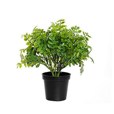 Artificial potted herb plants sage rosemary oregano for Vasi erba