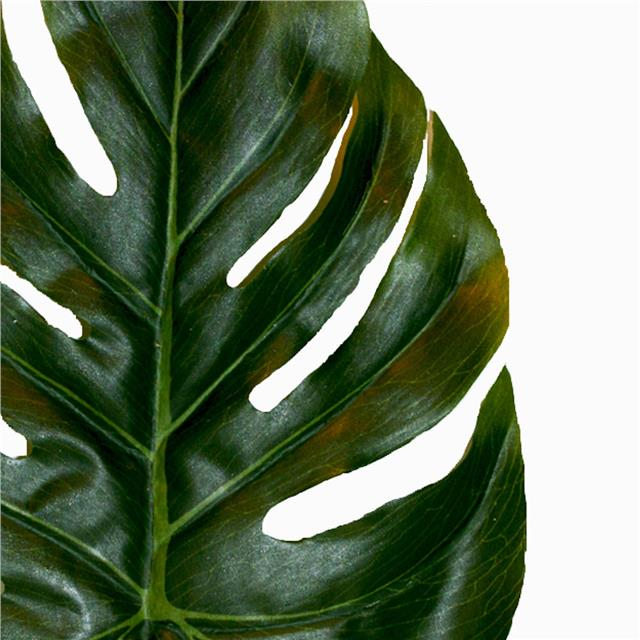 Artificial large monstera leaf x3 swiss cheese plant for Plante monstera