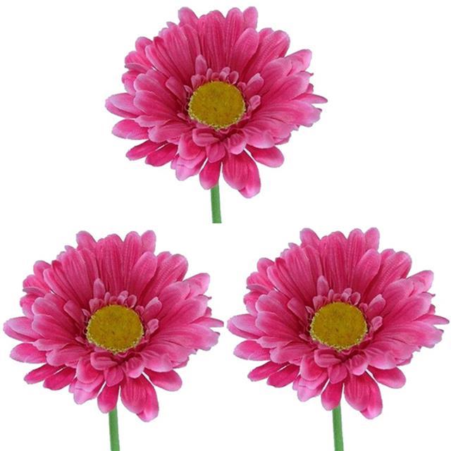 Artificial gerbera hot pink length 60 cm decorative silk flowers artificial gerbera hot pink length 60 cm decorative silk flowers mightylinksfo