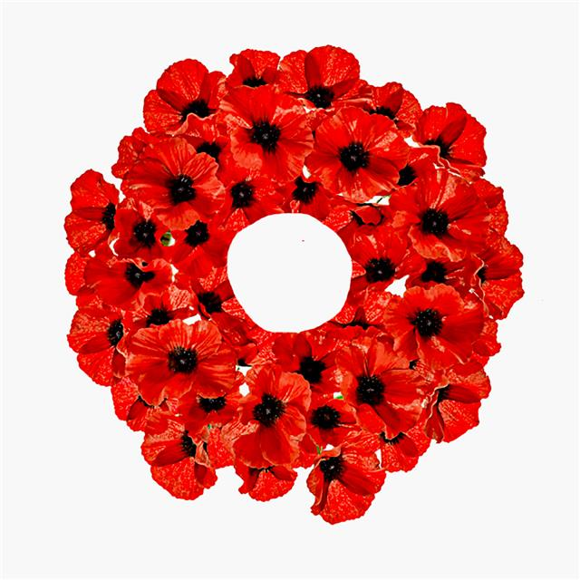 40cm artificial bright red poppy wreath 40 poppy flowers 40cm artificial bright red poppy wreath 40 poppy flowers remembrance day mightylinksfo