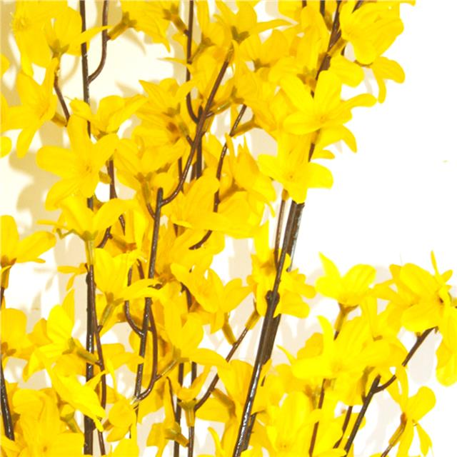 90cm artificial forsythia stem spray decorative yellow flowers 90cm artificial forsythia stem spray decorative yellow flowers mightylinksfo
