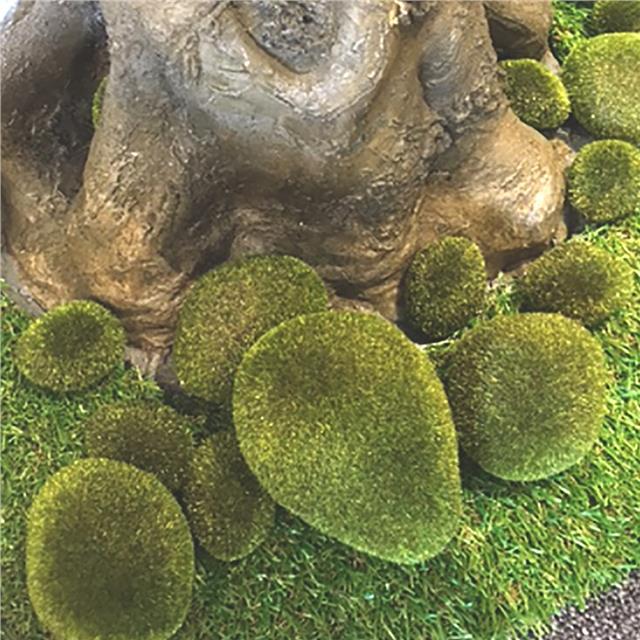 Artificial Decorative Moss Roll 1m X30cm Christmas