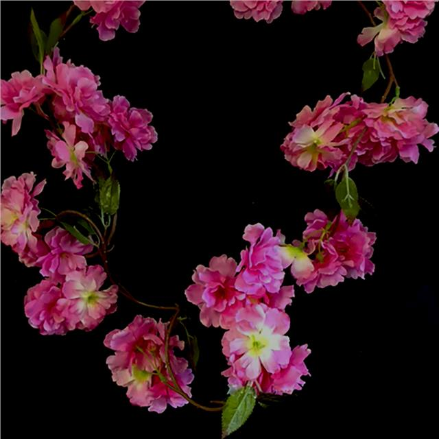 Artificial 6ft blossom garland cream pale pink dark pink flowers artificial 6ft blossom garland cream pale pink dark mightylinksfo