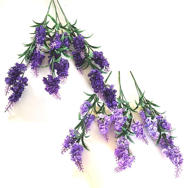 3 Artificial Lavender Stems 70cm Purple Lilac Flowers Choose Colour Ebay