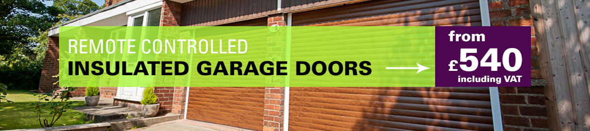 Electric Roller Shutter Garage Door 8ft Wide X 7ft