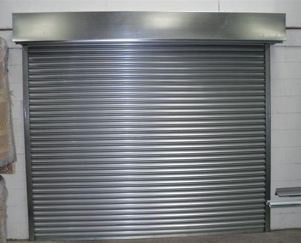 Electric High Security Roller Shutter Garage Doors