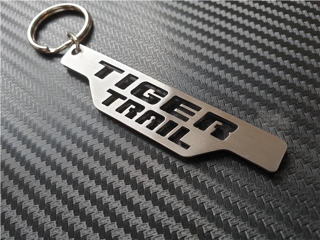 Aprilia Porte-Clés en Cuir Fait à la Main Coupé au Laser Cadeau Moto Porte Clé
