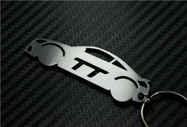 Audi TT keyring FRONT