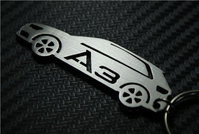 Für Audi A7 Cm Schlüsselanhänger Schlüsselring Porte-Clés Tdi TSI Quattro S Line