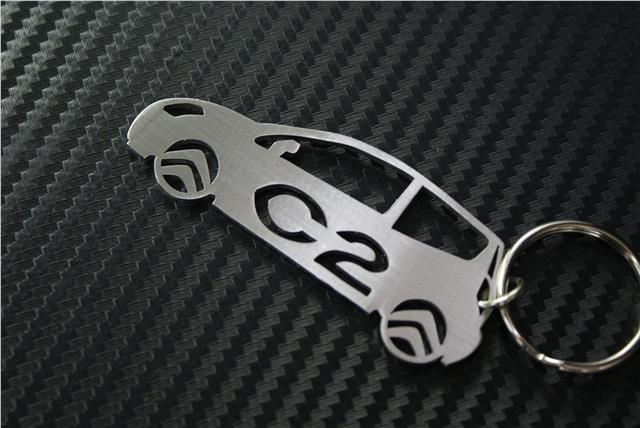 Citroen C2 CAR keyring O