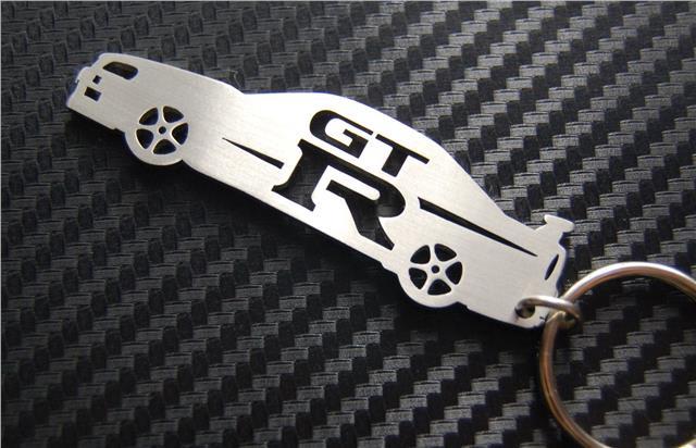 Skyline Schlüsselanhänger R34 Nismo GTR Auto