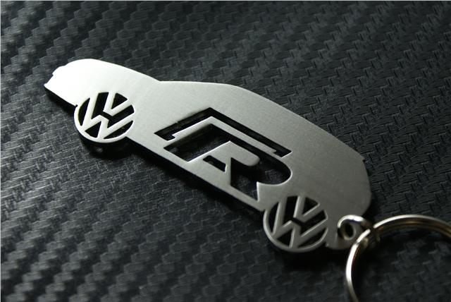 VW POLO R LINE CAR keyring Schlüsselring porte-clés GTI R32 TSI ...