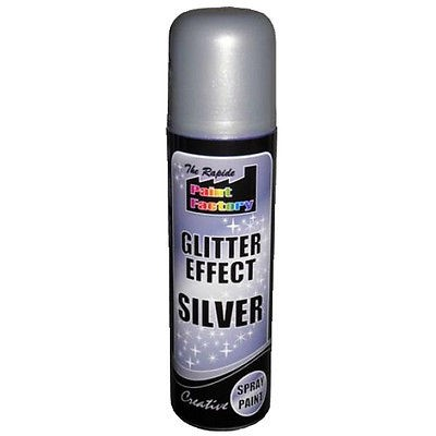 Glitter effect spray paint crafts art picture frames for Spray glitter for crafts