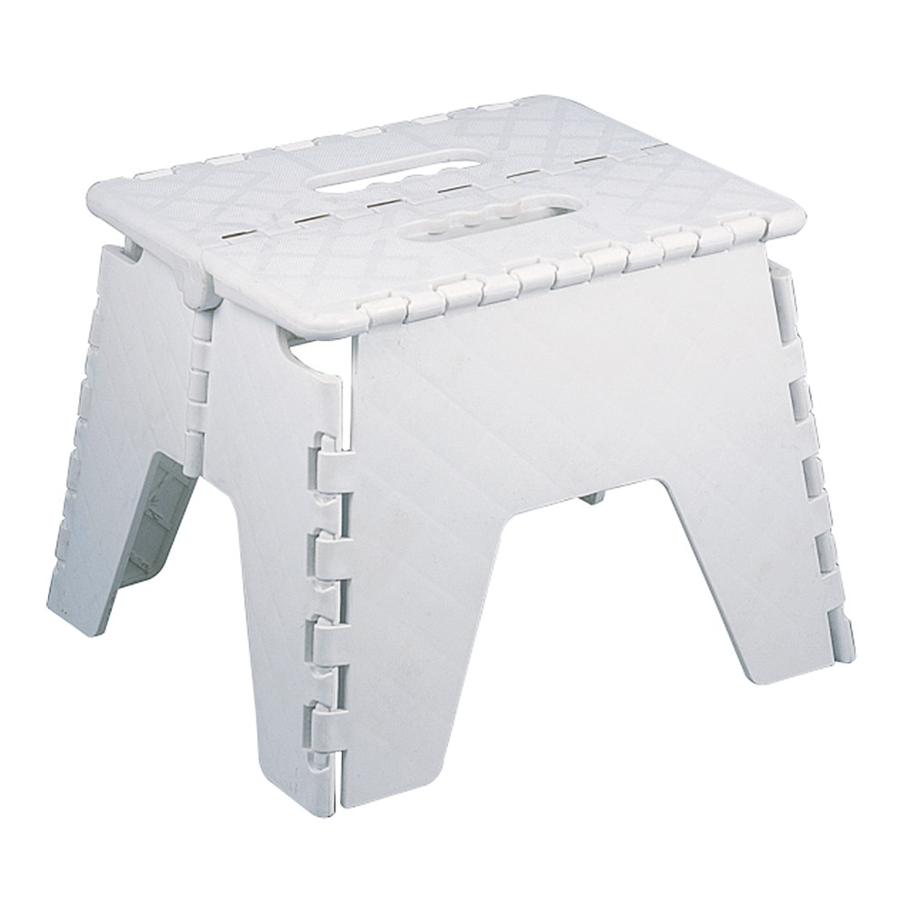 Foldable Folding Sturdy Step Stool Home Kitchen Garage Carry Multi Purpose Stool Ebay