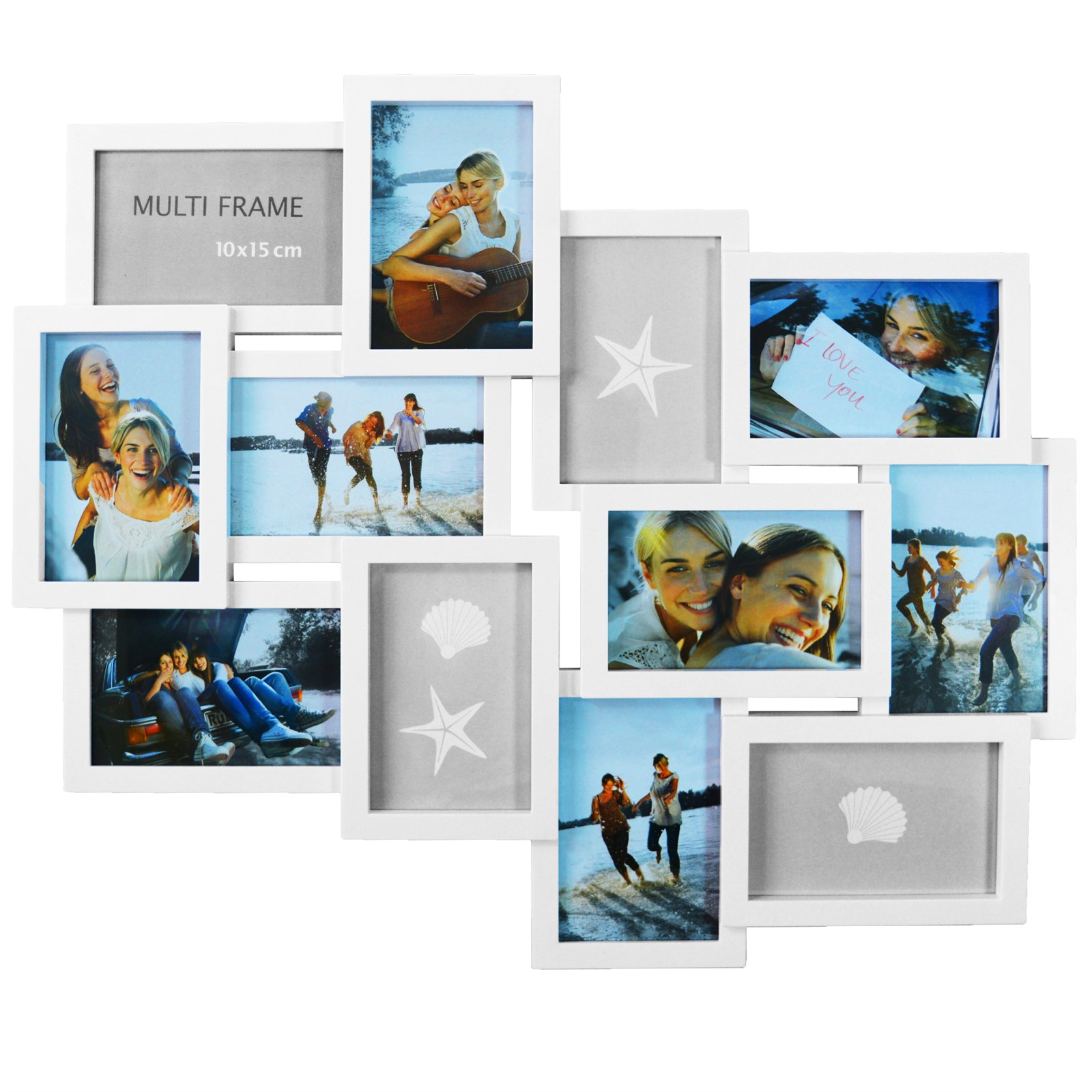 MULTI PHOTOFRAME FAMILY LOVE FRAMES COLLAGE PICTURE