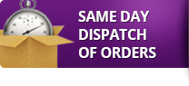 Same day dispatch of orders