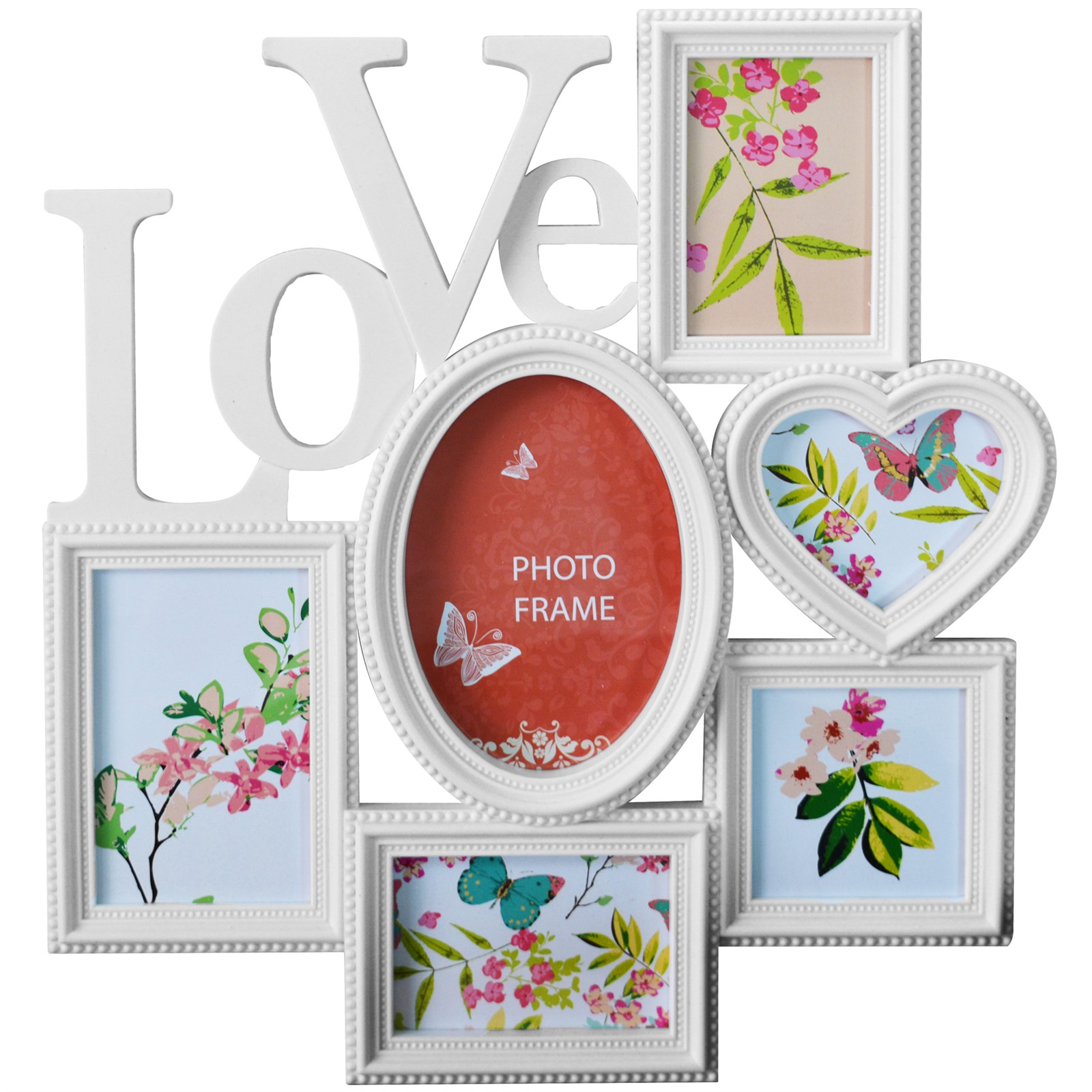 Love Collage Photo Frames. Good Wall Hanging Photo Frames Designs ...