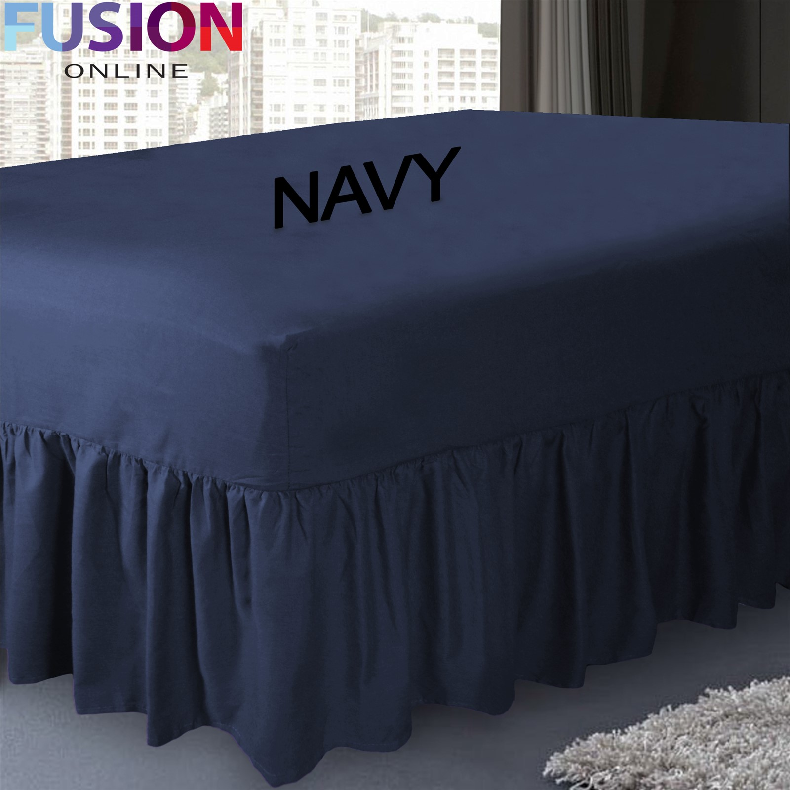 Fitted Valance Sheet Single Bed