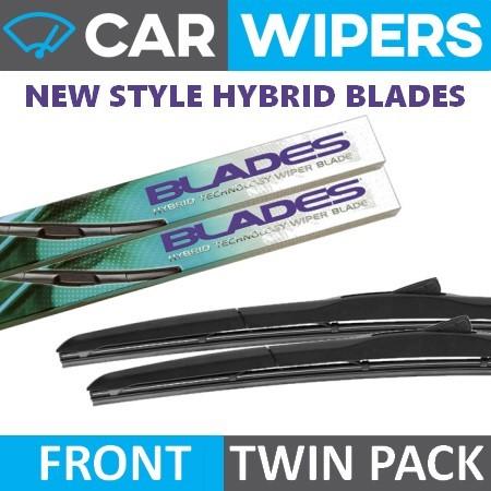 """Pour SMART CAR-fortwo Coupé 2014 /> Front Wiper Blades uniblade 20/"""" 14/"""""""