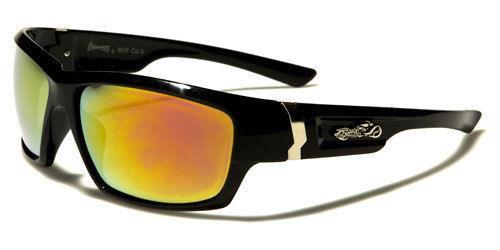 NEU schwarz Choppers Sonnenbrille Herren Damen Biker Rad groß gewickelt UV400 2RuNFm5YO