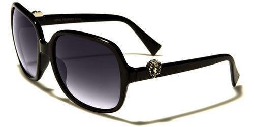Designer Butterfly Black Sunglasses Ladies Womens Girl Large Retro Vintage Uv400 zvq6pZ