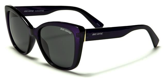 Designer Nero Polarized Occhiali da sole Pilot GRANDI RETRO VINTAGE UV400 donna women