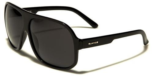 eecf79c5631 DESIGNER SUNGLASSES POLARIZED PILOT FLAT TOP BLACK RETRO LARGE UV400 MENS  LADIES