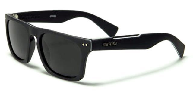 1ebf09e03d6 DESIGNER CLASSIC FLAT TOP POLARIZED SUNGLASSES RETRO BLACK MENS LADIES UV400