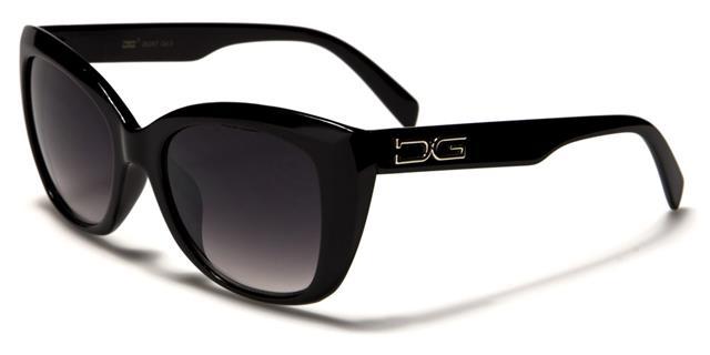 NEU schwarze Sonnenbrille Damen Mädchen Katzenauge Großer Retro Vintage groß lEPViZ0