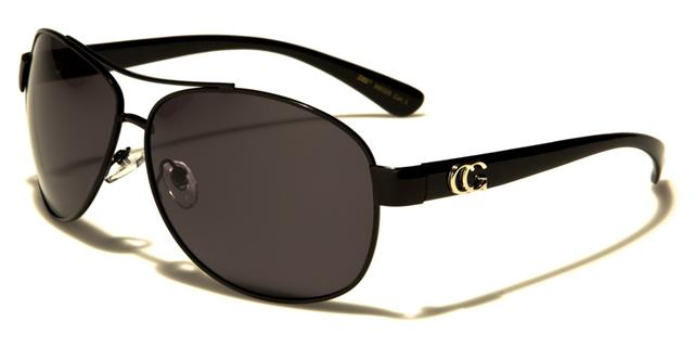 schwarz polarisierte Sonnenbrillen Damen Mädchen Designer Retro Große Großen ECpDltut8p