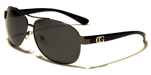 Designer schwarz polarisierte Sonnenbrillen Herren Damen Piloten Retro UV400 n7ezxS