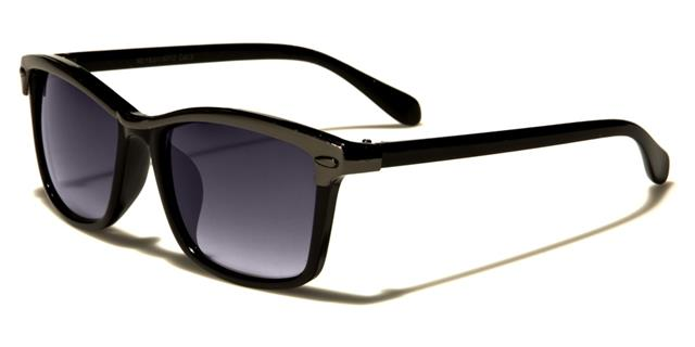 NEU schwarze Sonnenbrille Damen Herren Jungen Retro gespiegelt Vintage Designer T6IrvgN