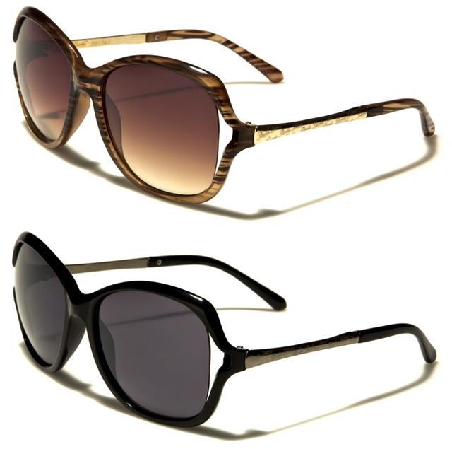 HONG Occhiali da sole ed elegante metallo retrò ladies occhiali da sole,G