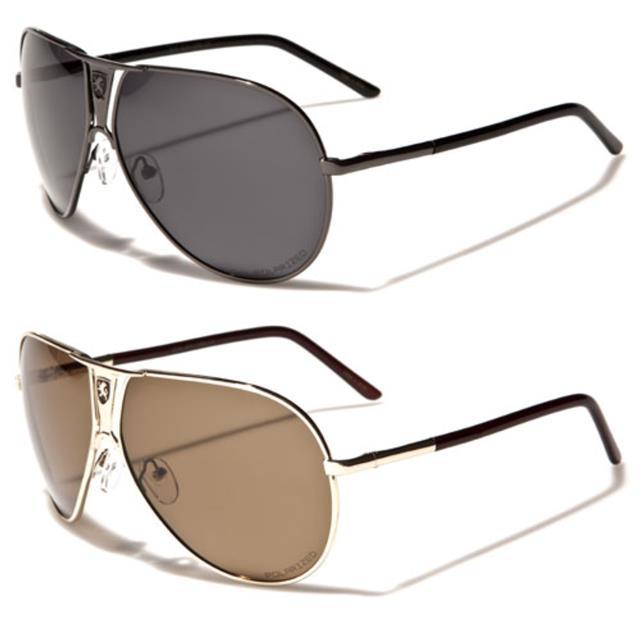 NEU schwarze Sonnenbrille Herren Damen Quadrat polarisiert fahren Retro 6fqSu