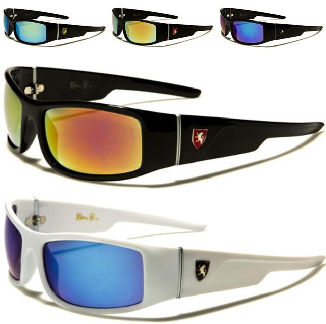 Tundra Mirror Lens Wrap Around Rimless Sunglasses Sport Volleyball Cycling