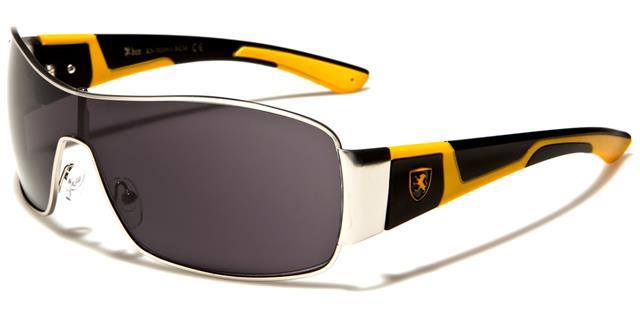 neue Sonnenbrillen Schwarze Designer Herren Damen Womens Wrap Schild gespiegelt TCA96z77l