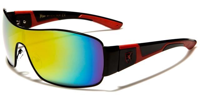 neue Sonnenbrillen Schwarze Designer Herren Damen Womens Wrap Schild gespiegelt stvt8sqIX