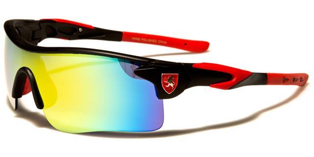 neue Sonnenbrillen Schwarze Designer Herren Damen Halbrand gespiegelt gewickelt 3wUUmWBeI