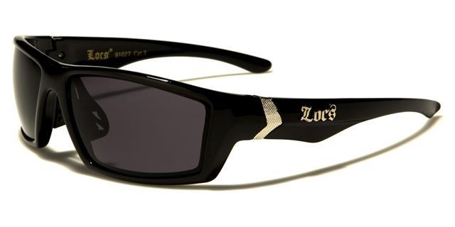 NEU Locs Sonnenbrille Designer Sport weiß Herren Damen groß gewickelt UV400 DF7F8d