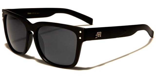 neue Sonnenbrillen Herren Damen Designer groß klassisch retro Metall Arm UV400 fO2XS