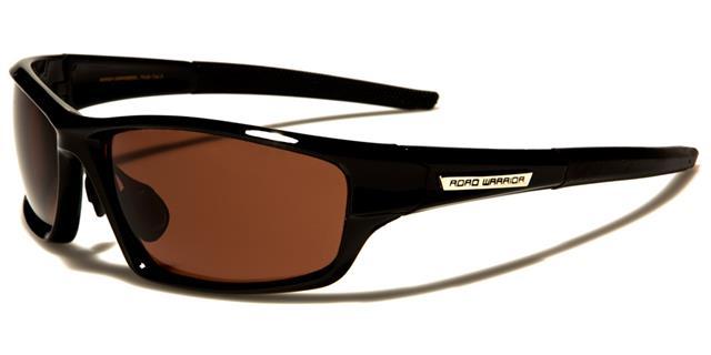 NEU schwarze Sonnenbrille Herren Damen Designer gewickelt HD Fahrer Glas T0GLx
