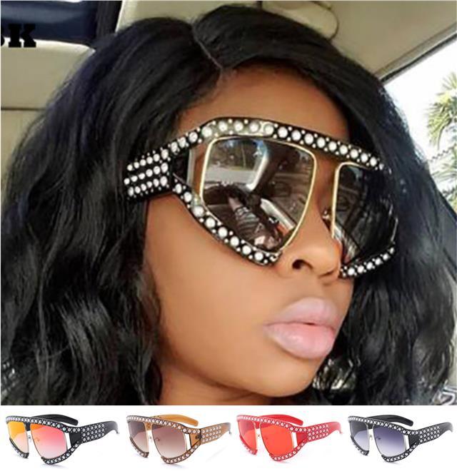 Designer Cat Eye Giselle Sonnenbrille Groß retro groß UV400 Damen-Frauen Mädchen