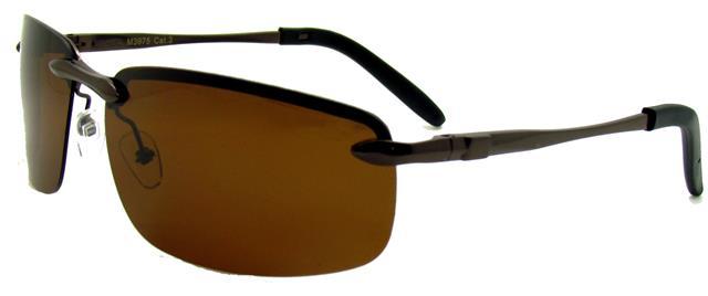 NEU schwarz silber Sonnenbrille Herren Damen rahmenlosen Designer Sport e6wxrH