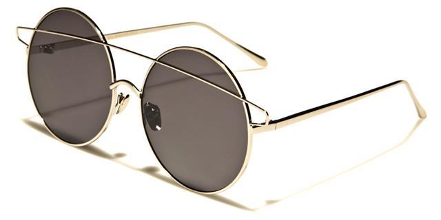 Neue Sonnenbrillen Damen Designer Rund Steampunk Übergröße Groß Retro Groß wsxD4U0d