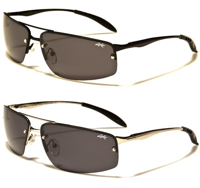 1a74cb500c X-LOOP SPORTS SUNGLASSES POLARIZED BIG WRAP DRIVING RIMLESS RUNNING GOLF  FISHING