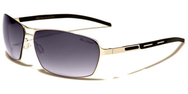 sport designer xloop sonnenbrille gewickelt metall golf. Black Bedroom Furniture Sets. Home Design Ideas