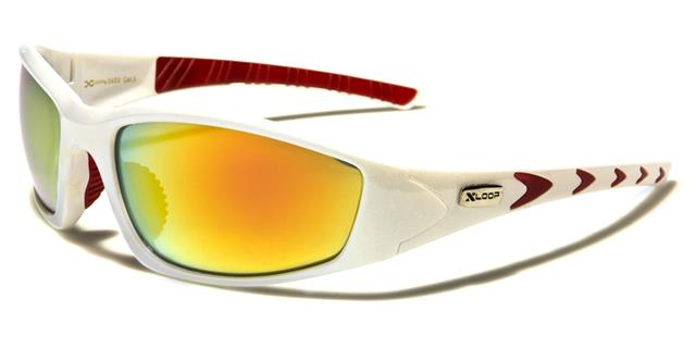 Occhiali da sole bianchi per uomo Xloop u9qLpy
