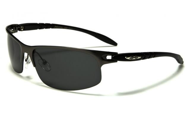 X-Loop Gafas de Sol Deportivas Polarizados sin Montura Golf Metal ...